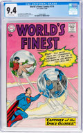 Silver Age (1956-1969):Superhero, World's Finest Comics #114 (DC, 1960) CGC NM 9.4 Off-white...