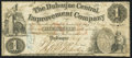 Obsoletes By State:Iowa, Dubuque, IA - Dubuque Central Improvement Company $1 Dec. 23, 1857 Oakes 48-1. ...