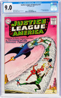 Silver Age (1956-1969):Superhero, Justice League of America #17 (DC, 1963) CGC VF/NM 9.0 Off-white towhite pages....