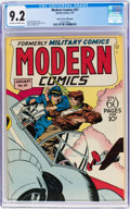 Golden Age (1938-1955):War, Modern Comics #57 Mile High Pedigree (Quality, 1947) CGC NM- 9.2Off-white to white pages....