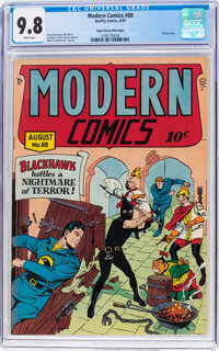 Modern Comics #88 Mile High Pedigree (Quality, 1949) CGC NM/MT 9.8 White pages