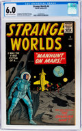 Golden Age (1938-1955):Science Fiction, Strange Worlds #4 (Marvel, 1959) CGC FN 6.0 Cream to off-whitepages....