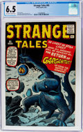 Silver Age (1956-1969):Science Fiction, Strange Tales #85 (Marvel, 1961) CGC FN+ 6.5 Off-white to whitepages....