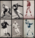 Football Cards:Lots, 1948-52 Exhibits Football Collection (20) Plus 1990 Radnor Graphic Art Collection and More!...