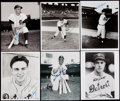 Autographs:Photos, Detroit Tigers Signed Photograph Lot of 25....