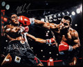 Boxing Collectibles:Autographs, Mike Tyson Signed Oversized Photograph. ...