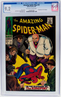 Silver Age (1956-1969):Superhero, The Amazing Spider-Man #51 (Marvel, 1967) CGC NM- 9.2 Off-white towhite pages....