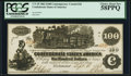 Confederate Notes:1862 Issues, CT39 $100 1862.. ...