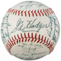 Autographs:Baseballs, 1964 Washington Senators Team Signed Baseball (30 Signatures) withGil Hodges....