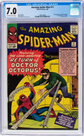 Silver Age (1956-1969):Superhero, The Amazing Spider-Man #11 (Marvel, 1964) CGC FN/VF 7.0 Of...