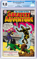Silver Age (1956-1969):Superhero, My Greatest Adventure #80 Massachusetts Copy Pedigree (DC, 1963)CGC VF/NM 9.0 White pages....