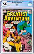 Silver Age (1956-1969):Superhero, My Greatest Adventure #82 Massachusetts Copy Pedigree (DC, 1963)CGC VF- 7.5 Off-white to white pages....