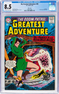 Silver Age (1956-1969):Superhero, My Greatest Adventure #85 Massachusetts Copy Pedigree (DC, 1964)CGC VF+ 8.5 Off-white to white pages....