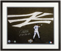 "Autographs:Photos, Derek Jeter ""11th NY Yankee Captain"" Signed, Framed Oversized Photograph, Limited Edition 11/22...."