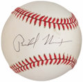 Autographs:Baseballs, President Richard Nixon Single Signed Baseball, PSA/DNA....