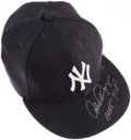 "Baseball Collectibles:Hats, 2005 Alex Rodriguez ""2005 MVP"" New York Yankees Signed Game UsedHat...."
