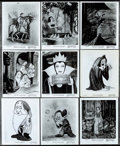"""Movie Posters:Animation, Snow White and the Seven Dwarfs (Buena Vista, R-1957). Photos (13) (8"""" X 10""""). Animation.. ... (Total: 13 Items)"""