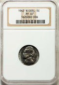 Proof Jefferson Nickels, 1942 5C Type One PR67 NGC. NGC Census: (319/10). PCGS Population: (474/21). CDN: $120 Whsle. Bid for problem-free NGC/PCGS ...