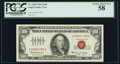 Small Size:Legal Tender Notes, Fr. 1550 $100 1966 Legal Tender Note. PCGS Choice About New 58.. ...