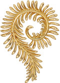Estate Jewelry:Brooches - Pins, Gold Brooch, Schlumberger for Tiffany & Co.. ...