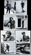 "Movie Posters:Crime, Dirty Harry (Warner Brothers, 1971). Photos (22) (Approximately7.5"", 8"" X 10""). Crime.. ... (Total: 22 Item)"