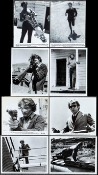 """Dirty Harry (Warner Brothers, 1971). Photos (22) (Approximately 7.5"""", 8"""" X 10""""). Crime. ... (Total: 22 It..."""