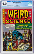 Golden Age (1938-1955):Science Fiction, Weird Science #14 (#3) (EC, 1950) CGC NM- 9.2 Off-white to whitepages....