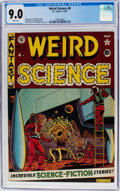 Golden Age (1938-1955):Science Fiction, Weird Science #8 (EC, 1951) CGC VF/NM 9.0 White pages....