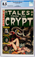 Golden Age (1938-1955):Science Fiction, Tales From the Crypt #32 (EC, 1952) CGC VF+ 8.5 Off-white pages....