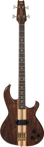 Musical Instruments:Bass Guitars, 1980 Aria Pro II Natural Electric Bass Guitar, Serial #010045....