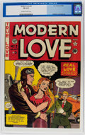 Golden Age (1938-1955):Romance, Modern Love #2 (EC, 1949) CGC FN 6.0 Off-white to white pages....