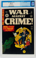 Golden Age (1938-1955):Crime, War Against Crime #7 (EC, 1949) CGC FN- 5.5 Cream to off-white pages....