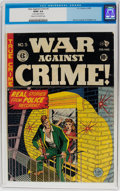 Golden Age (1938-1955):Crime, War Against Crime #5 (EC, 1949) CGC GD/VG 3.0 Cream to off-white pages....