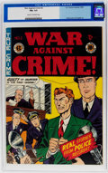 Golden Age (1938-1955):Crime, War Against Crime #2 (EC, 1948) CGC FN+ 6.5 Cream to off-white pages....