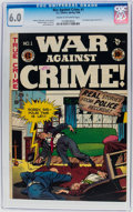Golden Age (1938-1955):Crime, War Against Crime #1 (EC, 1948) CGC FN 6.0 Cream to off-white pages....