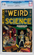 Golden Age (1938-1955):Science Fiction, Weird Science #15 (#4) (EC, 1950) CGC FN/VF 7.0 Cream to off-whitepages....