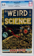 Golden Age (1938-1955):Science Fiction, Weird Science #11 (EC, 1952) CGC GD+ 2.5 Cream to off-whitepages....