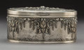 Silver Holloware, American:Boxes, A Hand-Hammered and Repoussé Silver Box. Marks: 7R800. 3-1/2 x 7-1/4 x 5-1/8 inches (8.9 x 18.4 x 13.0 cm). 17.14 troy o...