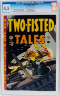 Golden Age (1938-1955):War, Two-Fisted Tales #34 (EC, 1953) CGC VG+ 4.5 Off-white to whitepages....