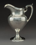 Silver Holloware, American:Water Pitchers, A Gorham Silver Water Pitcher, Providence, Rhode Island, circa 1920. Marks: (lion-anchor-G), STERLING, A11100, 4 PINT. 1...