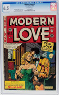 Golden Age (1938-1955):Romance, Modern Love #5 (EC, 1950) CGC FN+ 6.5 Off-white pages....