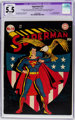 Superman #14 (DC, 1942) CGC Apparent FN- 5.5 Slight (C-1) Off-white pages