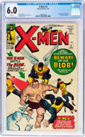 Silver Age (1956-1969):Superhero, X-Men #3 (Marvel, 1964) CGC FN 6.0 White pages....