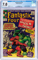 Fantastic Four #25 (Marvel, 1964) CGC FN/VF 7.0 Off-white to white pages