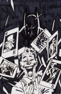 Original Comic Art:Miscellaneous, Ryan Sook DC Premium - Batman: Joker's Asylum II #75Preliminary Cover Original Art (Panini Deutschland, 2011)....