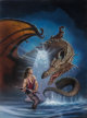 Keith Birdsong (American, 20th Century) Never Trust an Elf, Shadowrun paperback cover, 1995 Acrylic and colored pencil...