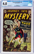 Silver Age (1956-1969):Superhero, Journey Into Mystery #84 (Marvel, 1962) CGC VG 4.0 Cream tooff-white pages....