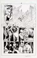 Alan Davis and Mark Farmer Stan Lee Meets Dr. Strange #1 Story Page 10 Original  Comic Art