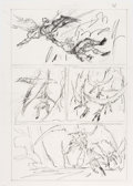 Original Comic Art:Miscellaneous, John Buscema - Conan Preliminary Page 21 Original Art (Marvel,undated)....