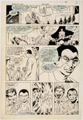 Alan Davis and Paul Neary Detective Comics #569 Story Page 18 Original Art (DC,  Comic Art